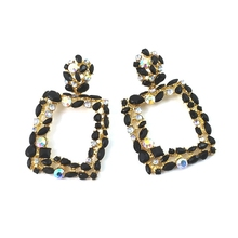 Fashion Statement Earrings 2019 Big Geometric Round Earrings For Women Hanging Dangle Earrings Drop Earing Modern Female Jewelry fashion statement earrings 2019 round wood fan drop earrings women hanging dangle earrings modern jewelry gifts for female