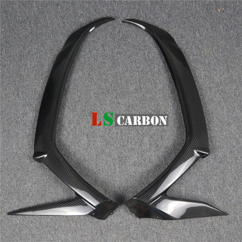 Full Carbon Fiber Motorcycle Accessories Front Side Fairing For Kawasaki ZX10R 2011-2018 2012 2013 2014 2015 2016