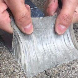 Taśma z kauczuku butylowego z folii aluminiowej samoprzylepna odporność na wysokie temperatury wodoodporna do naprawy rur dachowych
