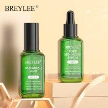 BREYLEE, Sérum visage dissolvant de points noirs, masque rétrécissement des pores, Peeling Essence hydratant sans âge, nettoyage en profondeur peau, nez, soin du visage,