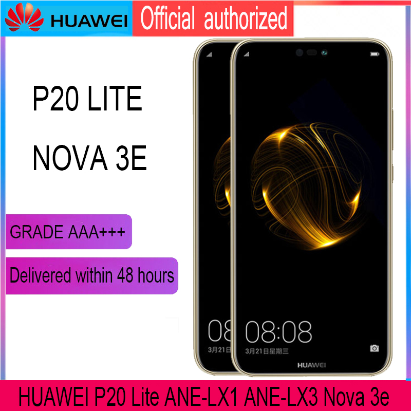Image 3 - Original 5.84 LCD with Frame for Huawei P20 Lite Nova 3e LCD Display Touch Screen Digitizer Assembly ANE LX1 ANE LX3Mobile Phone LCD Screens   -