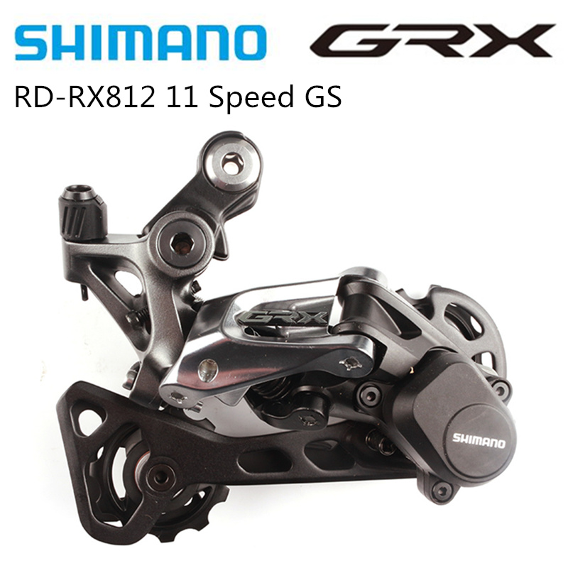 NEW Low:42T SHIMANO GRX RD-RX812 Rear Derailleur 11-speed