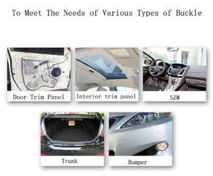 10 шт. дверной наличник для автомобиля бамперы панели грили боковые зажимы для Mazda Honda crv subaru impreza a4 b7 hyundai ix35 skoda superb bmw e65