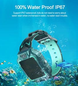 4G Children's Smart Watch GPS + GPRS + LBS Positioning + WIFI Positioning Face Recognition SOS Waterproof Multi-language