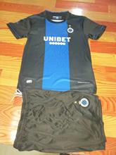 Children Sets Club Brugge KV uniforms boys and girls sports kids shirts+shorts training suits blank custom set