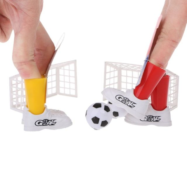 New Jersey Table Soccer Foosball Finger Soccer Match Toy Finger Game Sets Party Favors Kids Toy 4