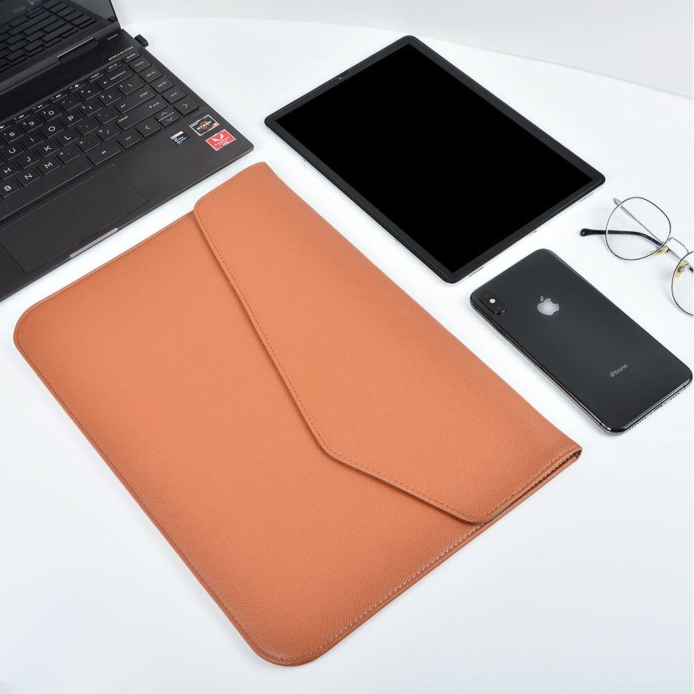 电脑内胆包棕色详情-9