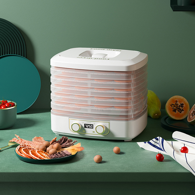 220V Dried Fruit Vegetables Herb Meat Machine 10L Household Food Dehydrator Pet Meat Dehydrated 5 Layers Snacks Air Dryer