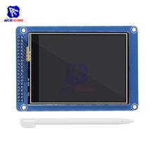 Diymore 3.2 cal 240x320 Panel dotykowy wyświetlacz TFT LCD moduł z długopis Stylus ILI9341 sterownik dla Arduino Raspberry Pi