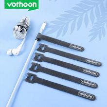 Vothoon 20 шт Кабельный органайзер управление телефонным шнуром