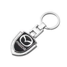 3d металлический брелок для автомобильных ключей плетеная веревка