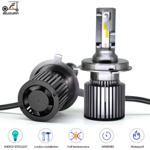 FUXUAN H7 Led Lamp H4 H11 LED Super Bright Car Led Light H1 H8 H9 HB3 HB4 Headlights Canbus 60W 6000LM 12V Automobiles Fog Lamp xencn hb3 9005 12v 60w 3800k super bright second generation dawn light car headlights halogen for bmw x5 e36 ford honda lada asx