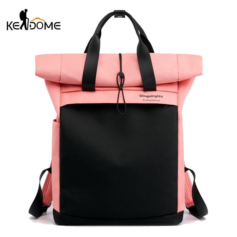 Anti-theft Travel Backpack Women Patchwork Sports Gym Bag Waterproof Fitness Bag Laptop Rucksack Sac De Sport 2019 New XA266D