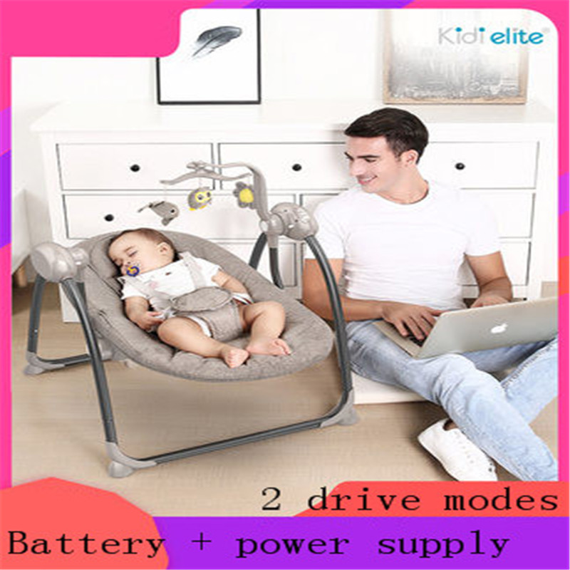 Baby Electric Rocking Chair Baby Cradle Reclining Chair With Doll