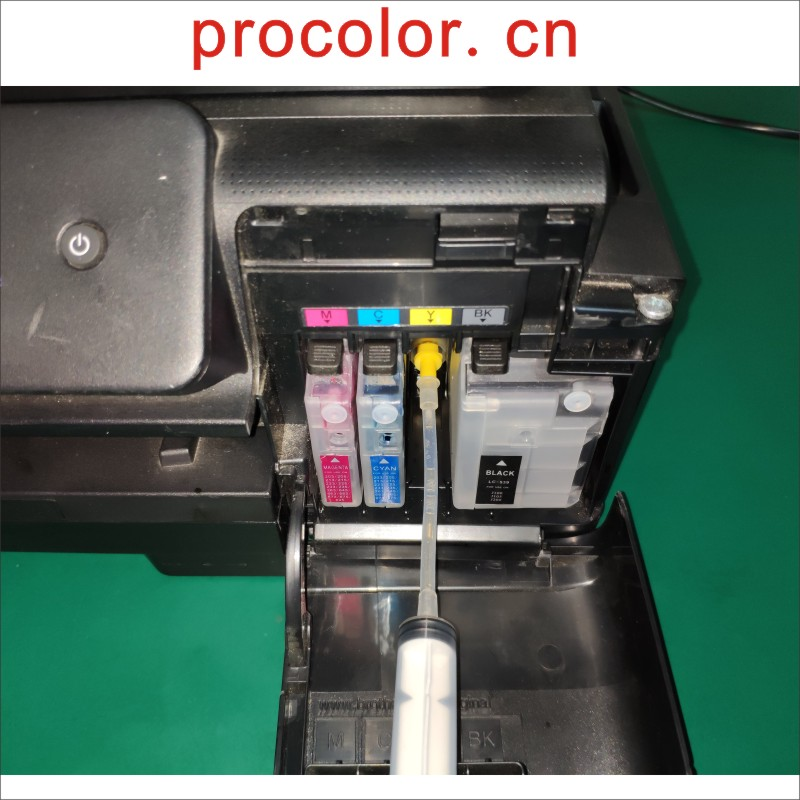 Cleaning Liquid Tool For Brother LC203 LC221 LC 229 225 Printhead MFC-J4420DW MFC-J4620DW MFC-J4625DW MFC-J5320DW Inkjet Printer