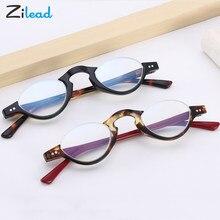 Zilead semi-emoldurado óculos de leitura unisex feminino homem ótico anti azul noite fahsion confortável + 1.0 + 1.5 + 2.0 + 2.5 + 3.0 + 3.5