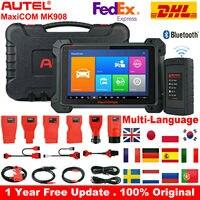 Autel MaxiCOM MK908 Diagnostic Auto OBD2 Scarner Car Diagnostic tool ECU Coding Full Code Reader Scanner tool pk Launch X431