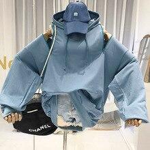 Off Shoulde Sweatshirts Hoodie Designer Womens Hoodies Pullover Korean Fashion Woman Clothes Demi-season Jackets