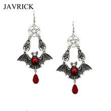 Винтажная красная вампирская подвеска «летучая мышь» висячие
