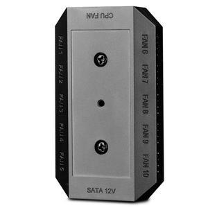 1 до 10 многоходовой сплиттер охладитель охлаждающий вентилятор концентратор 4pin 12В блок питания PCB адаптер управления ПК компьютер