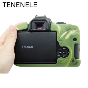 Image 4 - Camera Bags For Canon EOS 600D 650D 700D Soft Silicone Case Rubber Cover For Canon 600 650 700 D Protection Accessories Durable