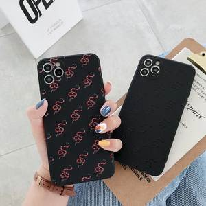Luxury brand snake Soft silicon phone case for iphone 7 8 6S 6 plus X XR XS 11 Pro Max