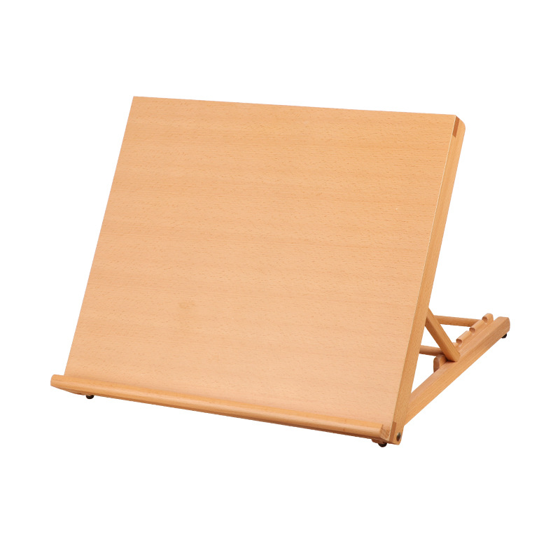 Portable Sketch Easel Wooden Desktop Easel Artist Tabletop Drawing Board Stand Easel For  Watercolor Oil Painting Art Supplies