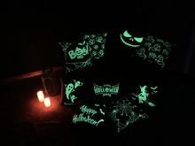 1Pcs Halloween Party  Family Luminous Pillow Case