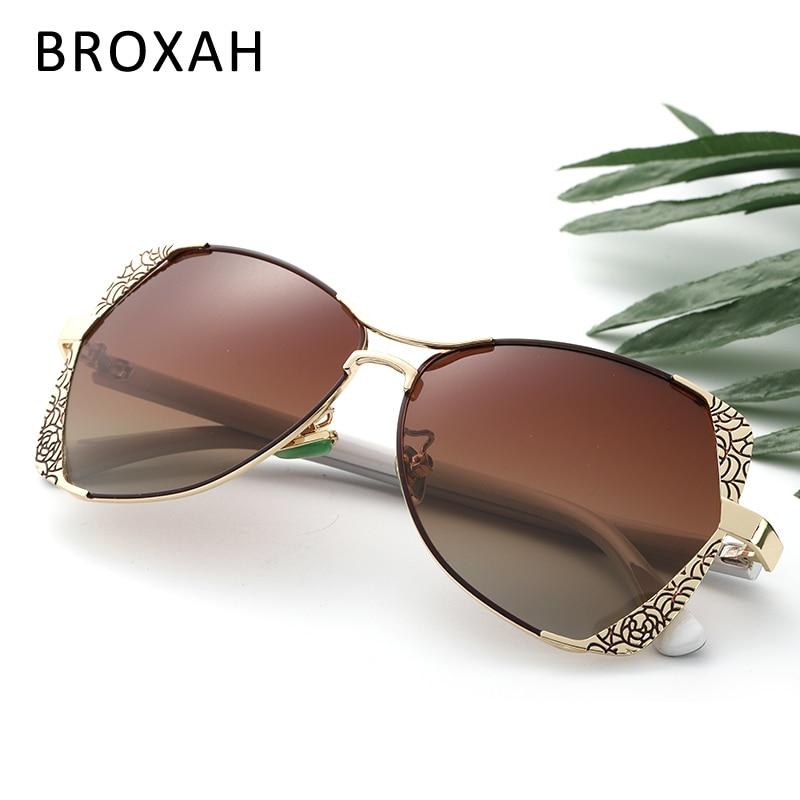 Fashion Women Sunglasses Brand Designer 2020 Ladies Polarized Sunglasses Female Eyewear UV400 Oculos De Sol Feminino