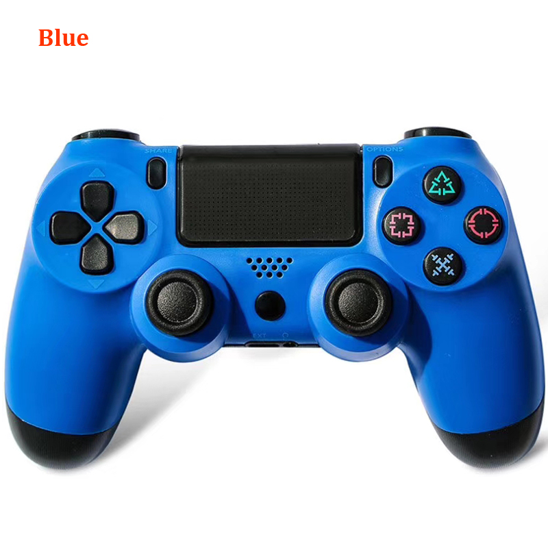 2019 Wireless Bluetooth Game controller for PS4 Dual Shock Vibration Joystick Gamepads for PS3 Console for PlayStation 4 replace(China)