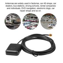 Nawigacja samochodowa GPS antena SMA 3M kabel podstawa magnetyczna nawigacja samochodowa Radio nawigacja GPS odbiornik ANT prawa polaryzacja GPS Booster XZ-AN tanie tanio kebidumei GPS Antenna Car Black GPS Antenna GPS Receiver RG174 1575 42MHz