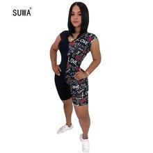 Wholesale Summer Women Playsuits Jumpsuits