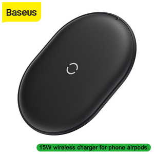 Image 1 - Baseus 15W Qi Wireless Charger for iPhone 11 Pro X Xs Xs Max XR Samsung wireless charger fast charger for airpods earpods
