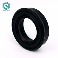 Waterjet parts high pressure Rod seal for water jet intensifier pump