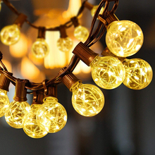 Led String Light 10M Fairy Bulb LED Lamp Christmas Lights for Outdoor Garden Garland Decoration Holiday Lighting