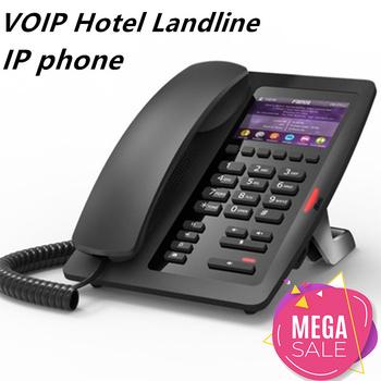 Telefone fixo sem fio VoIP multimedialny telefon stacjonarny domofon na pokój hotelowy stały telefon IP stacjonarny tanie i dobre opinie Hindetel CN (pochodzenie) Voip telefon