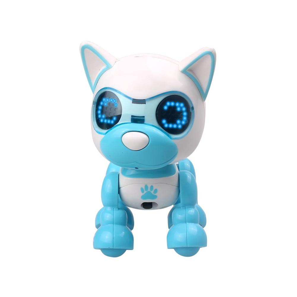 Children Sound Change Intelligent Robotic Puppy Sleep LED Eyes Recording Dog Interactive Cute Toy