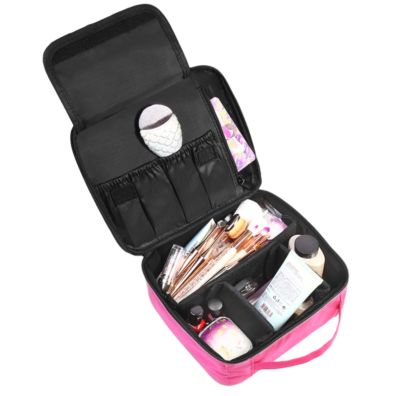 Women Cosmetic Bag Travel Makeup Organizer Professional Make Up Box Cosmetics Pouch Bags Beauty Case For Makeup Artist