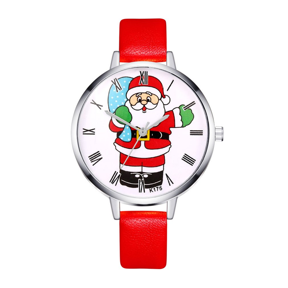 Fashion Luxury Cheap Quartz Watches Women Sport Military Stainless Steel Dial Leather Band Wrist Watch For 2018 Christmas GIFTS