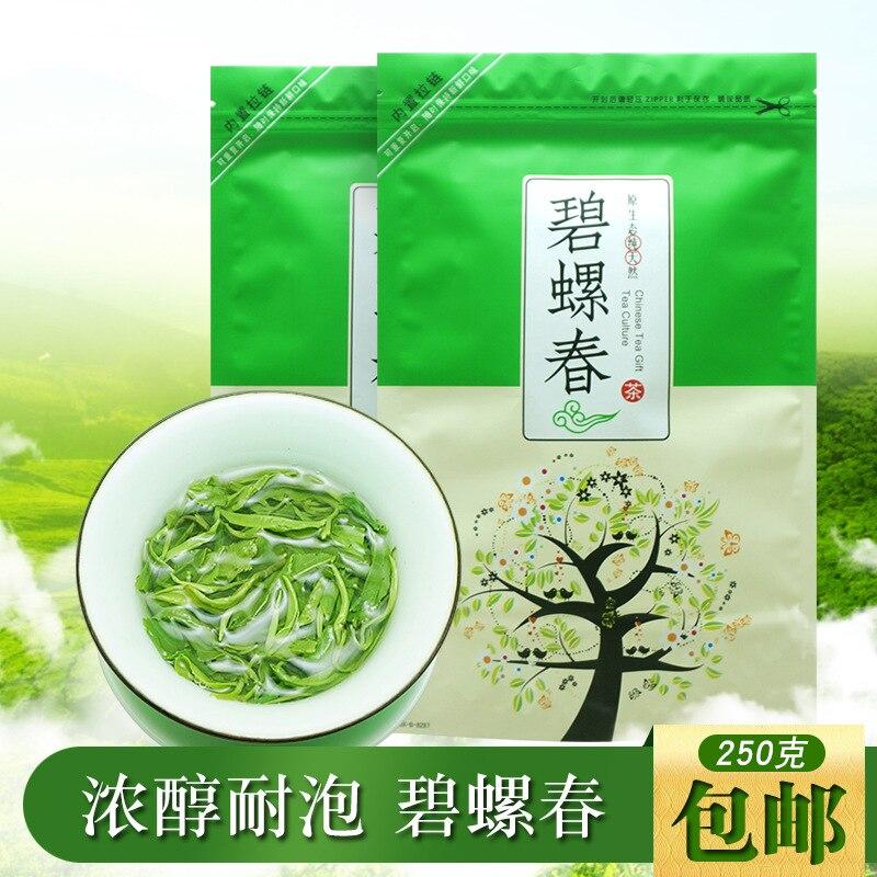 Té Verde bi-luo-chun 2019 de China, té orgánico Real nuevo de muelle Verde temprana para la pérdida de peso, cuidado de la salud