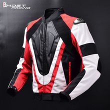 GHOST RACING Autumn Winter Motorcycle Jacket Men Protective Gear Moto Jacket Windproof Cold-proof Touring Motorbike Riding Cloth motorcycle jacket duhan autumn winter windproof cold proof men motocross equipment gear cotton motorbike protective jacket