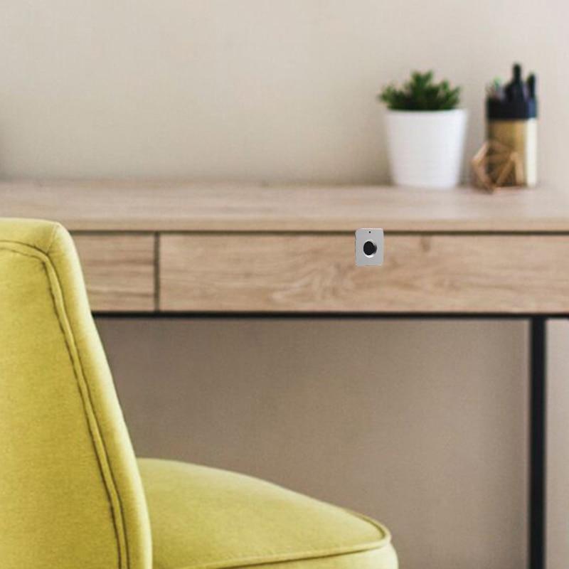 Image 5 - Smart Drawer Fingerprint Lock Alloy Intelligent Electronic Lock Anti Theft Safety Lock for Storage Cabinet Wardrobe DeskElectric Lock   -