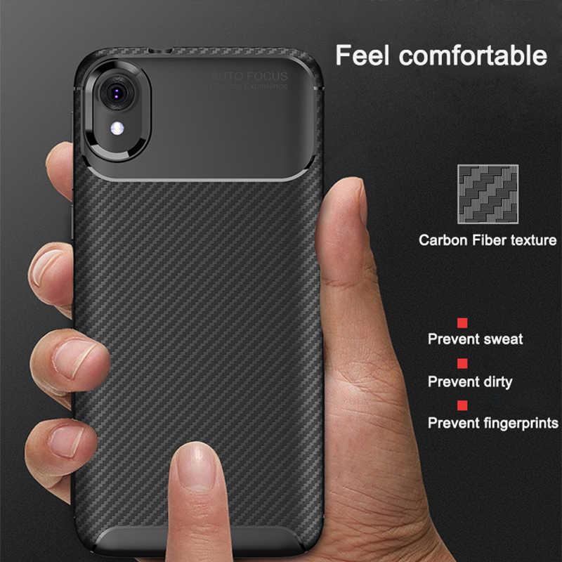新しいカーボン電話バックケースモト E6 G6 G7 プラス電源 Z3 Z4 E5 再生行く P30 P40 注ワンビジョンカバーシリコン保護ケース