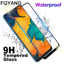 FQYANG 2PCS Full Tempered Glass For Samsung A10 A20 A20E A30 A40 A50 A60 Premium Protective Film A70 A80 M10 M20 M30
