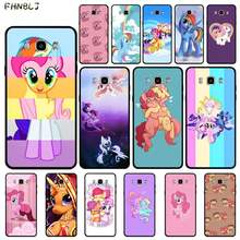 FHNBLJ My little pony Phone Case for Samsung J6 J7 J2 J5 prime J4 J7 J8 2016 2017 2018 DUO core neo(China)