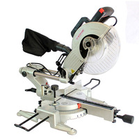 10 inch double slide bar saw miter saw with laser positioning