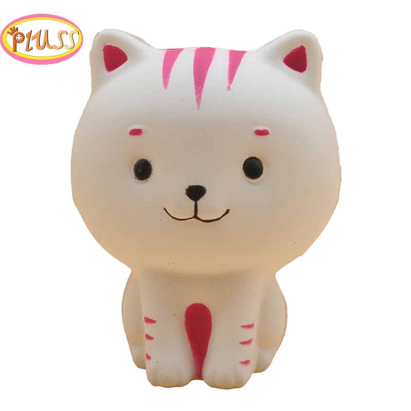 New Kawaii Cat Squishy Kitty Doll Creative Squeeze Toy Slow Rising Simulation Bread Scented Stress Relief For Kid Fun Gift