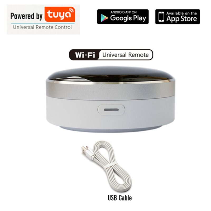 Wifi Smart Universal Intelligent Remote Control Smart Life Switch Home Appliances Works With Google Home Alexa Siri