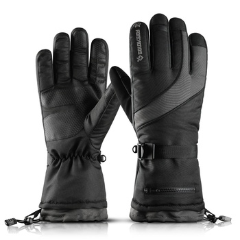 Men Motorcycle Riding Winter Gloves Warm Fleece Motorcycle Snowmobile Riding Gloves Ski Gloves Snowboard Gloves фото