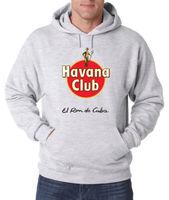 HAVANA CLUB HOODIE FRUIT OF THE LOOM PRINT BY EP SON